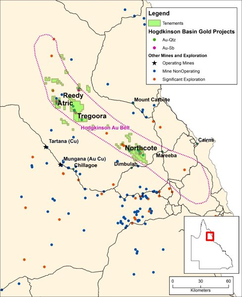 Bulletin Resources Limited: Acquisition of Gold Project Queensland