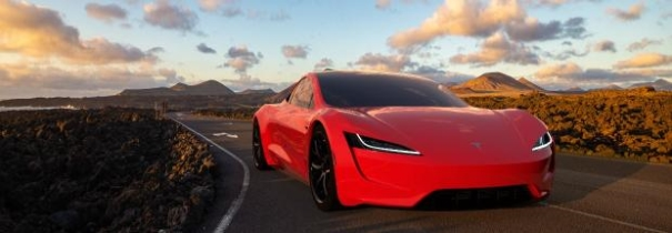 Ein Bild, das Text, Himmel, rot, Auto enthält.  Automatisch generierte Beschreibung