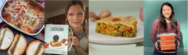 Ein Bild, das Text, drinnen, Essen, Sandwich enthält.  Automatisch generierte Beschreibung