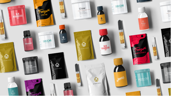 Ayurcann Marketplace offers all of its Ayurcann Brands in one place such as, Vida , CBD , Fuego THC vapes, Innocan Topicals, Joints CBD, Glow Topical